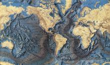 Earth Ocean Floor Topography